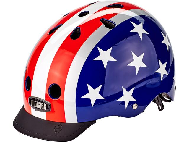 Nutcase Street Helmet Kids stars & stripes